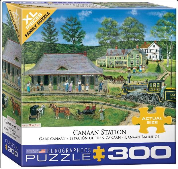 פאזל 300 חלקים - תחנת רכבת