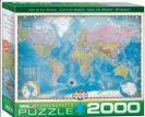 פאזל 2000 חלקים - מפת עולם