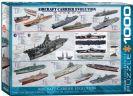 פאזל 1000 חלקים-אבולוציה  של אוניות נוסעות מטוסים