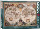 פאזל 1000 חלקים  - מפת עולם עתיקה