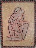 שלמות - פסיפס אבן - Wholeness - stone  50x30