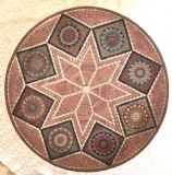פסיפס אבן -Stone mosaic - Ǿ60