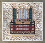 גזוזטרה --- נמכר --- פסיפס אבן   Balcony - Stone mosaic נמכר 40X40