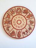 גלגל המזלות  -- הוזמן ונמכר  - קרמיקה  Zodiac - Ceramic Ǿ 55