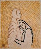 רוך - פסיפס אבן - Softness- stone mosaic