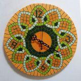 שעון פסיפס קרמיקה לנטלי ---הוזמן ונמכר-- Stone mosaic Ǿ30