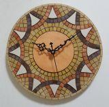 שעון פסיפס אבן למירב ---הוזמן -- Stone mosaic Ǿ30