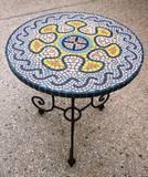 פסיפס אבן וקרמיקה -  Stone & Ceramic mosaic  - Ǿ52