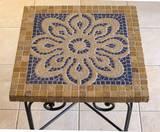 פסיפס אבן וקרמיקה ---מתנה---  Mosaic - Stone & Ceramic  - 52x52
