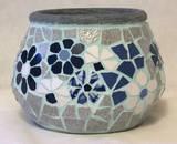 כחול ולבן - כד פסיפס - קרמיקה Blue & White - Ceramic 18X18