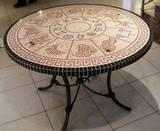 גלגל שמימי --- הוזמן ונמכר---פסיפס אבן   Heavenly Cycle - stone mosaic  Ǿ110