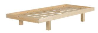 משטח עץ יחיד עם מסגרת