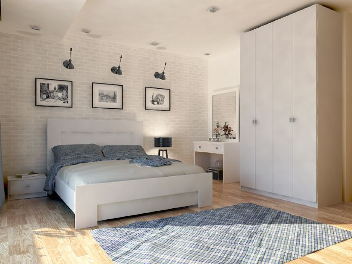 חדר שינה מאי עם ארון