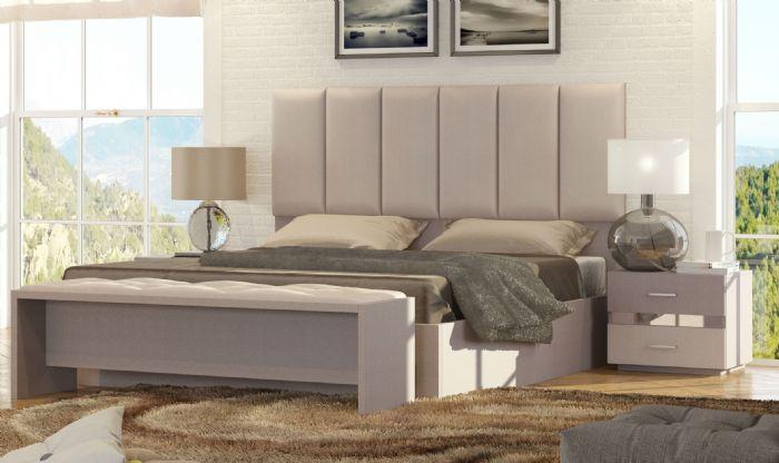 חדרי שינה: מיטה זוגית ושידות גרייס