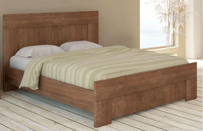 מיטה זוגית אורבן בגוון לבן ממלאי