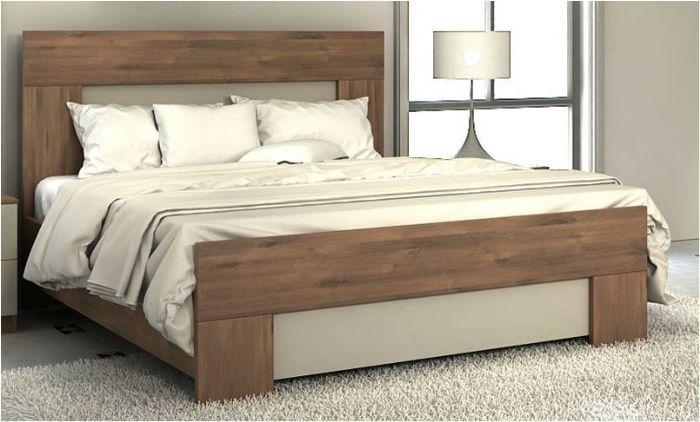 מיטה זוגית קנטרי