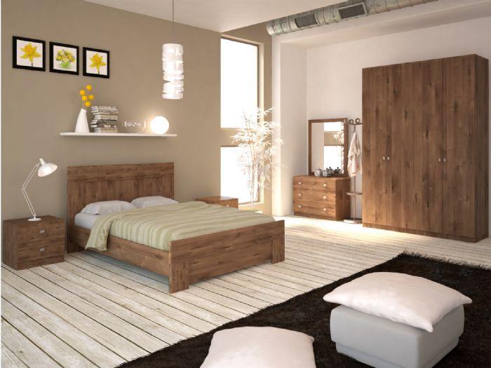 חדר שינה אורבן עם ארון