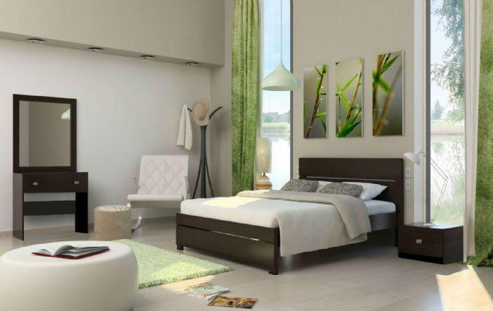חדר שינה אקו בגוון לבן ממלאי
