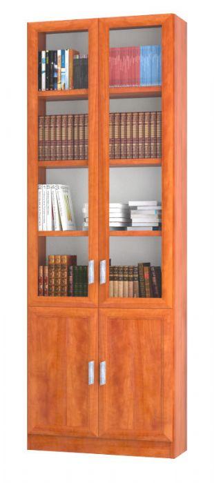 כוננית ספרים 2 דלתות סנדויץ סהר