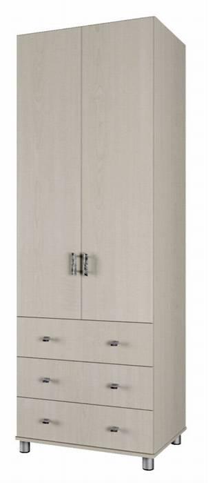 ארון שתי דלתות נופר בגוון לבן ממלאי