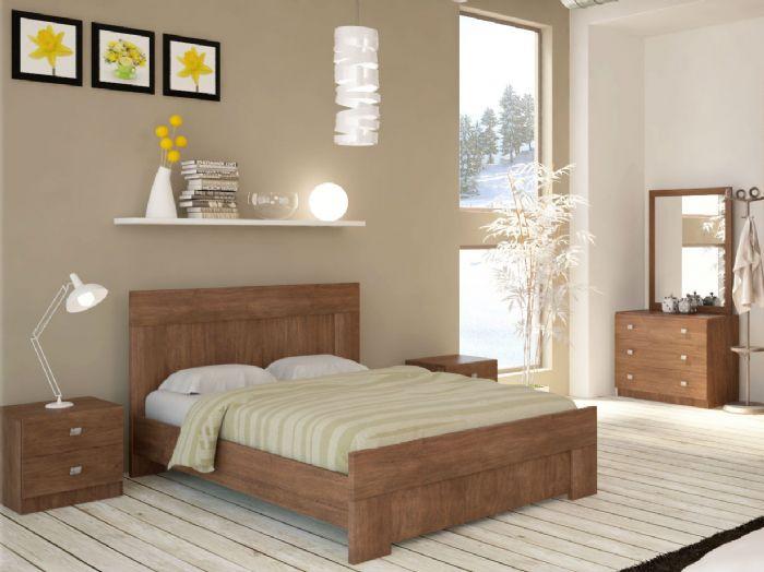 חדר שינה אורבן בגוון שיטה ממלאי