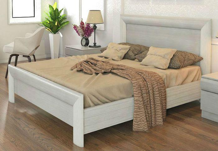 מיטה קורל 160X190 בצבע לבן מתצוגה