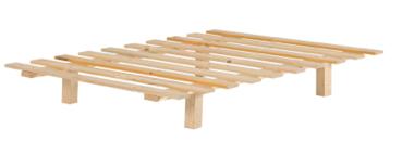 משטח עץ ללא מסגרת 160X200 ממלאי
