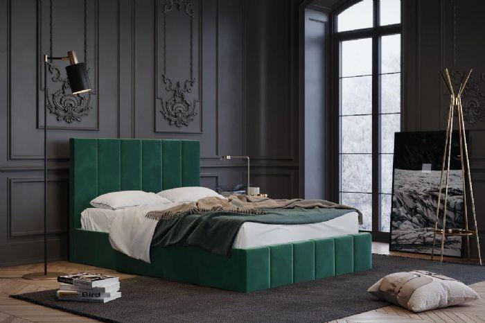 מיטה זוגית מרופדת דגם מון