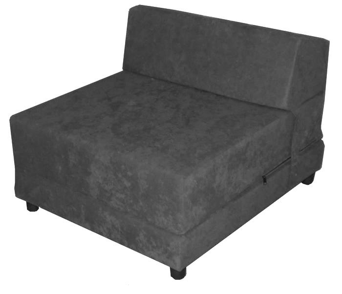 כורסא מיטה  FLIP L בגוון אפור ממלאי