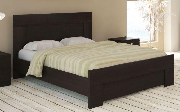 מיטה זוגית אורבן בגוון וונגה ממלאי