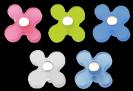 ידית פרח אקריל