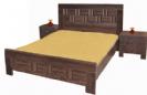 חדר שינה: מיטה זוגית ושידות דגם גלית