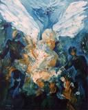 """ציורי שמן - """"מלאכיות"""" 50/40"""