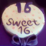 עוגה לגיל 16