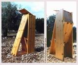 1990, pine 190x38 cm. The Sculpture Biennale of Ein Hod.