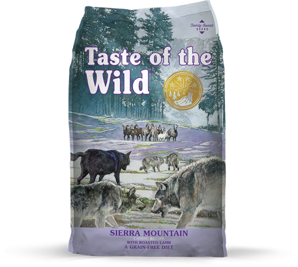 "Taste of the wild- טייסט אוף דה ווילד כל הגזעים- כבש 12.2 ק""ג"