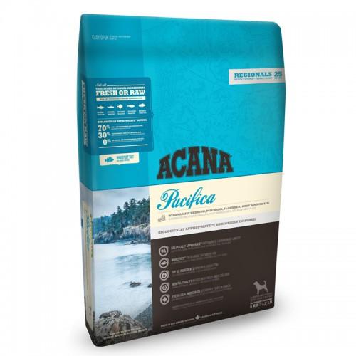 "Acana- אקנה פסיפיק- כל הגזעים- דגים 11.4 ק""ג"