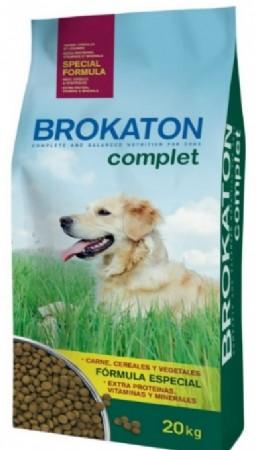 """Brokaton- ברוקטון אוכל לכלבים בוגרים מכל הגזעים- 20 ק""""ג"""