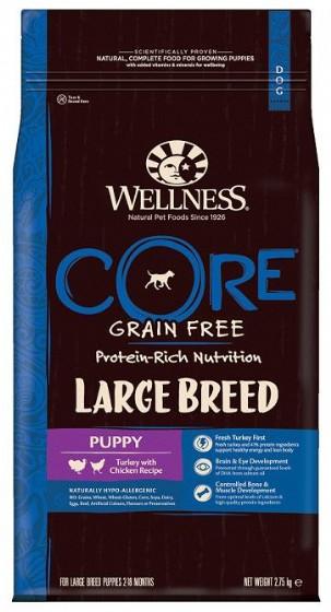 wellness core-וולנס קור גור גזע גדול 10 קג