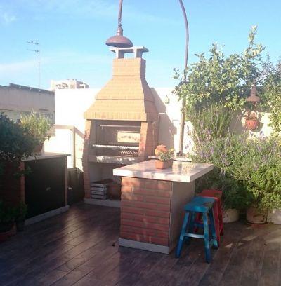גריל בנוי בואנוס אירס עם ארון חוץ ושולחן אי קפרי