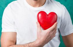 לב של גבר
