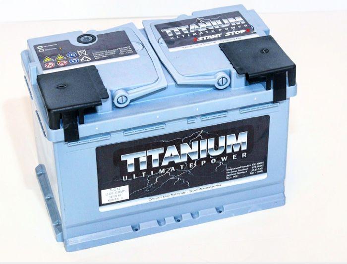 START-STOP טיטניום 60AH EFB