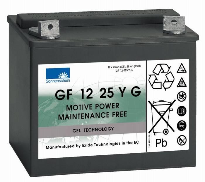 מצבר ג'ל (פריקה עמוקה) GF12025YG 28AH