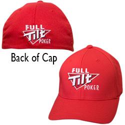 כובע Full Tilt Poker אדום