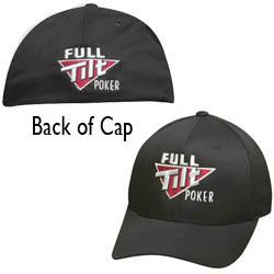 כובע Full Tilt Poker שחור, אזל במלאי