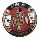 מגן קלפים זהוב Donkey / אזל