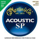 סט מיתרים  0.10  לאקוסטית מרטין MARTIN SP MSP3000