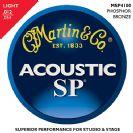 סט מיתרים  לאקוסטית 0.12 מרטין  MARTIN   MSP4100