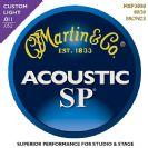 סט מיתרים 0.11    לאקוסטית מרטין   MARTIN SP MSP3050