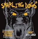 סט מיתרים סנרלינג דוג לאקוסטית  0.12 SNARLING DOGS